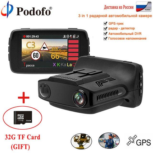 ВидеорегистраторPodofo FHD 1080P