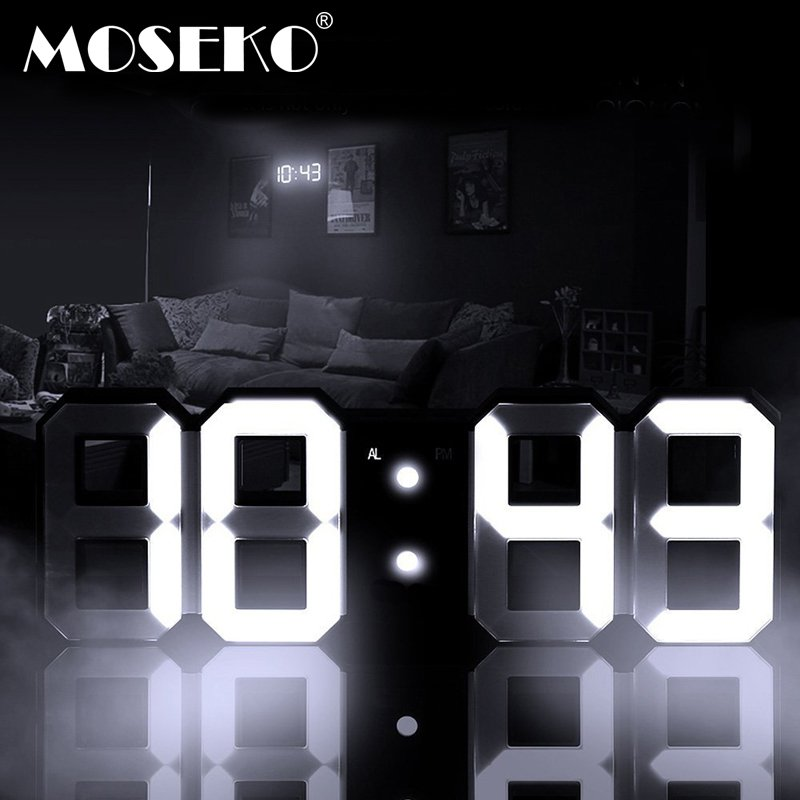 Цифровой будильник-ночник