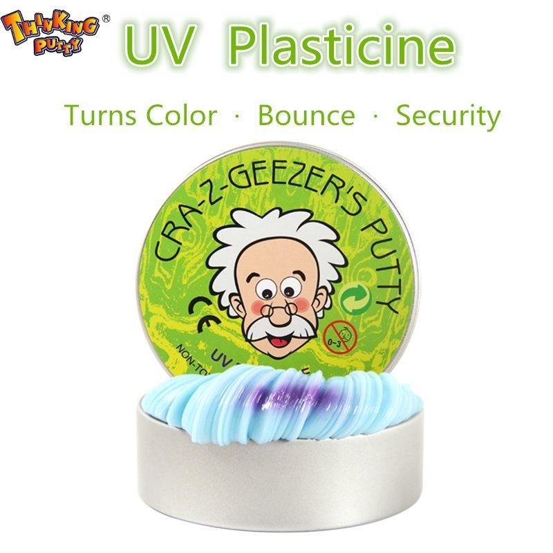 Пластилин THINKING PUTTY меняет цвет
