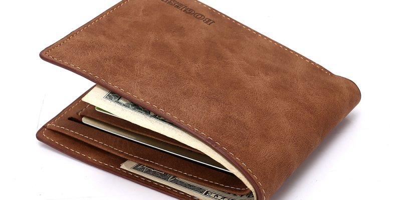 ТОП-5 настоящих мужских бумажников из AliExpress