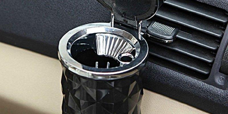 ТОП-5 умных пепельниц для авто из AliExpress
