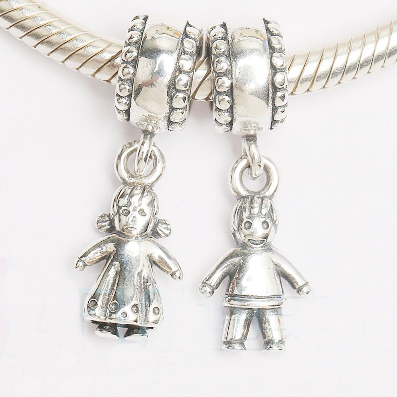 Подвеска-шарм Дети из серебра 925