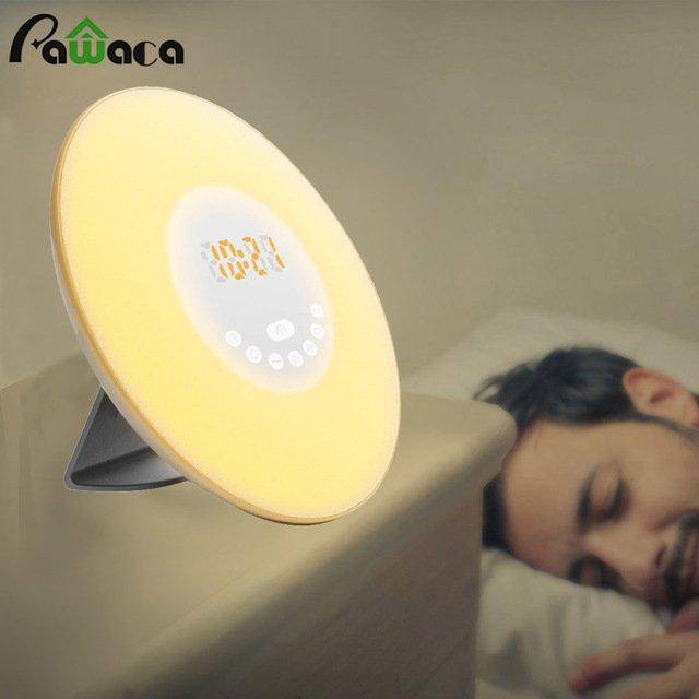 Сенсорный будильник светящийся