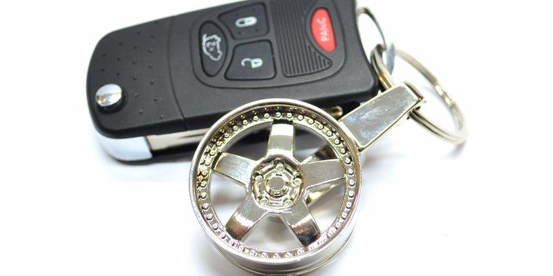 ТОП-5  автомобильных брелков для ключей из Aliexpress