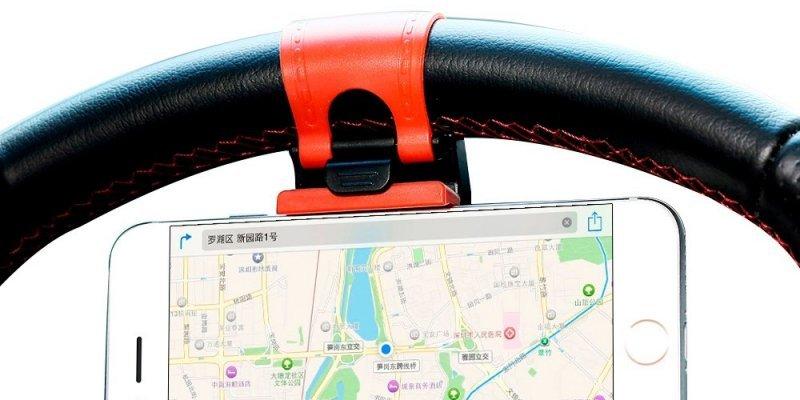 ТОП-5 держателей для телефона в авто от AliExpress