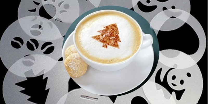 ТОП-5 лучших наборов трафаретов для кофе от AliExpress