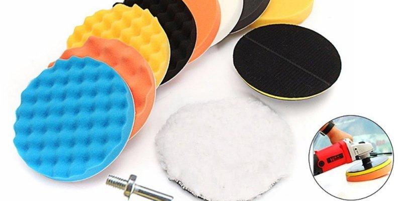 ТОП-5 наборов губок для полировки машины от AliExpress