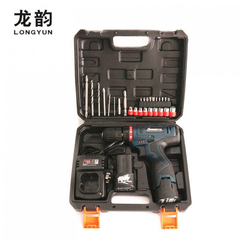 Комплект шуруповёртLongyun, аккумулятор и биты