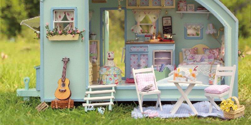 10 мимишных домиков для кукол из AliExpress