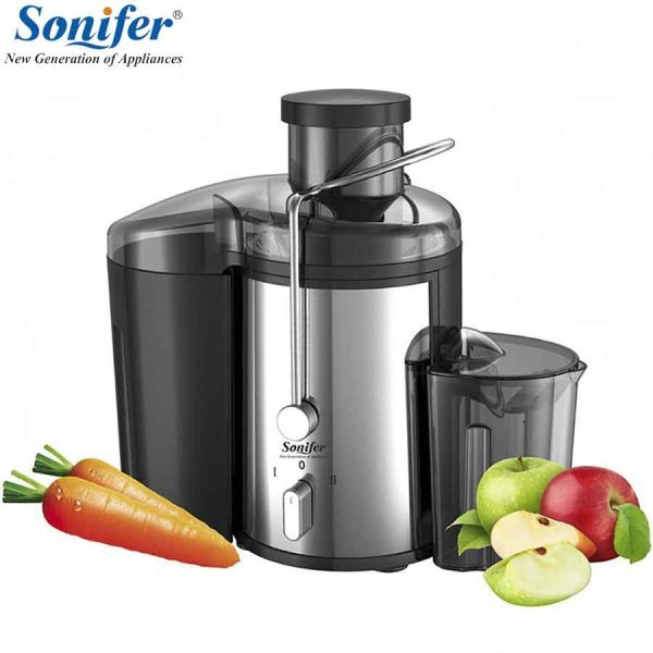 Мощная соковыжималка для овощей и фруктов SONIFER 1.5 л  (220 В, 250*150*300 мм)