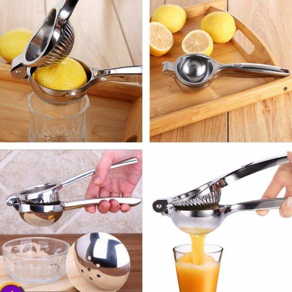 Соковыжималка-пресс для отжима лимона QiufengCheng (20 см, 21.5 см)