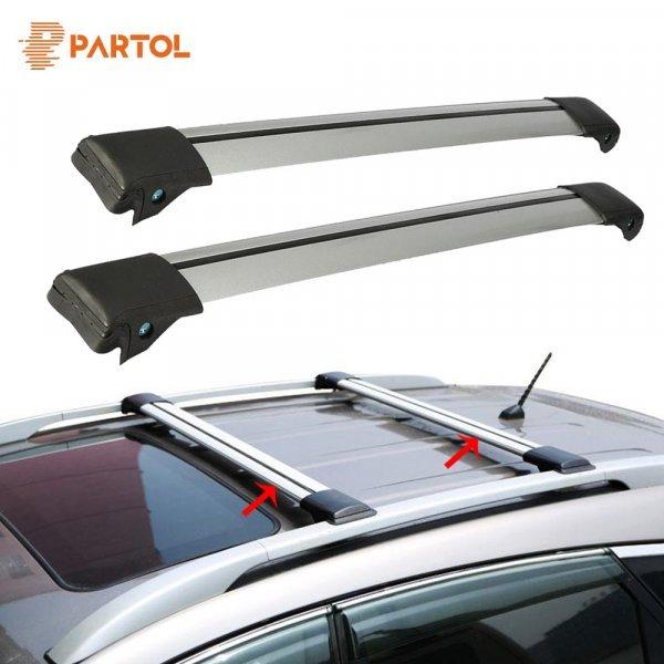 Багажник Partol на крышу автомобиля (105 ~ 111 см, 99 см ~ 105 см, 93 ~ 99 см)