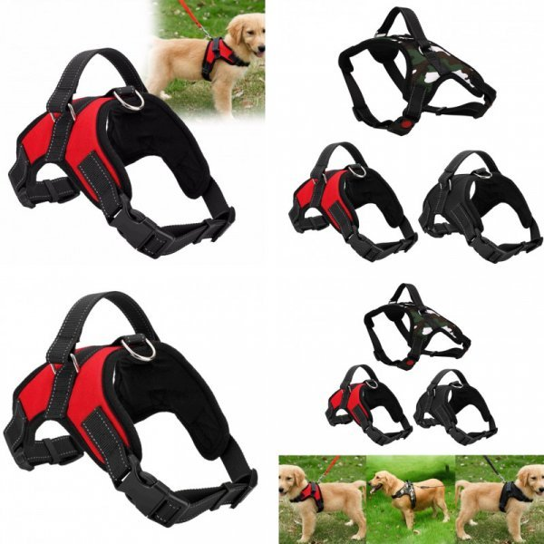 Поводок со шлейкой для средних собак VKTECH (4 размера)