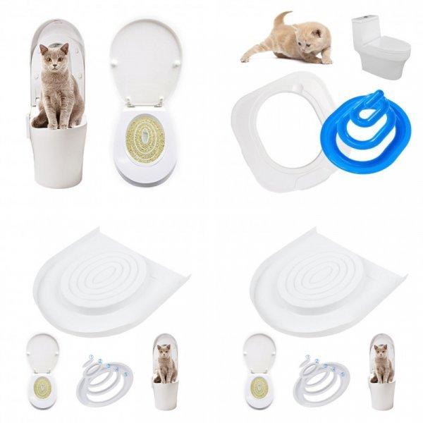 Кошачий туалет-накладка BEI DI CHONG (2 цвета)