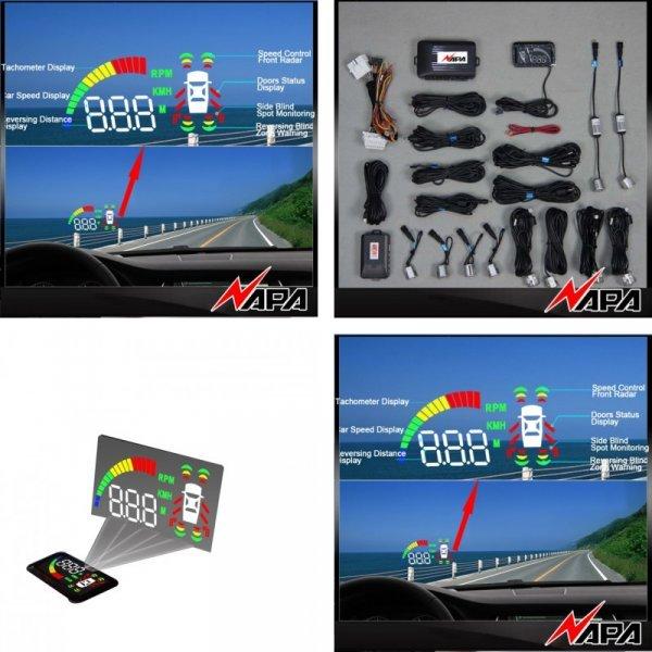 Умная система парковки автомобиля с сенсором NVOTN