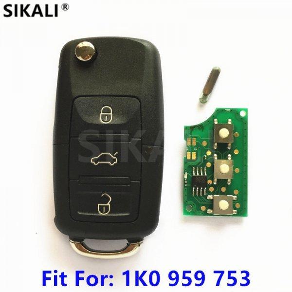 Корпус смарт-ключа для авто с жалом и чипом SIKALI SKL
