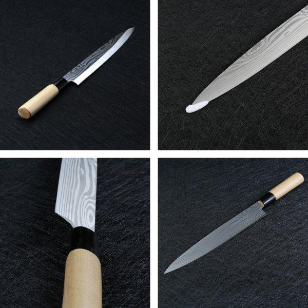 Удобный нож для рыбы OUSSIRRO (сталь, 358 мм)