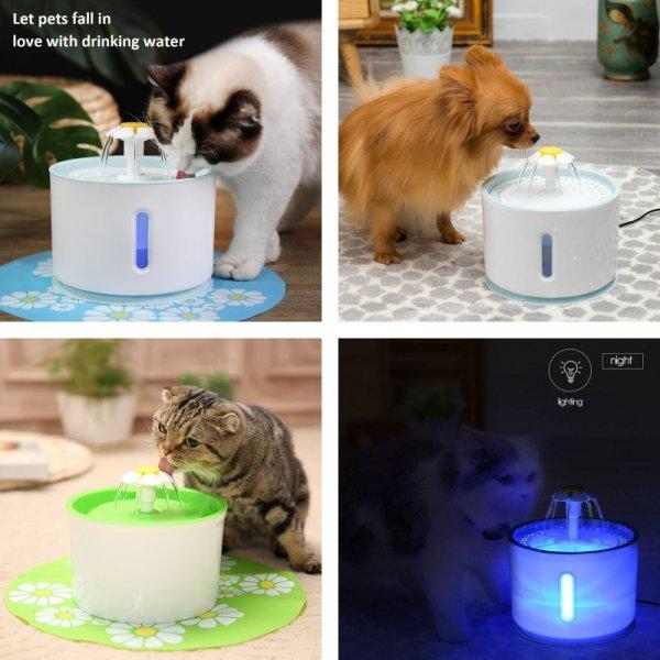 Питьевой фонтанчик для кошки