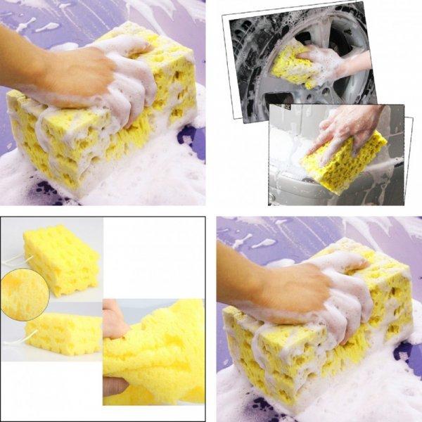 Супер губка для мытья кузова VODOOL  (1 шт, 17*10*7.5 см)