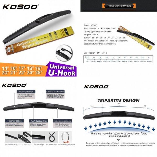 Идеальные автомобильные дворники для машины KOSOO