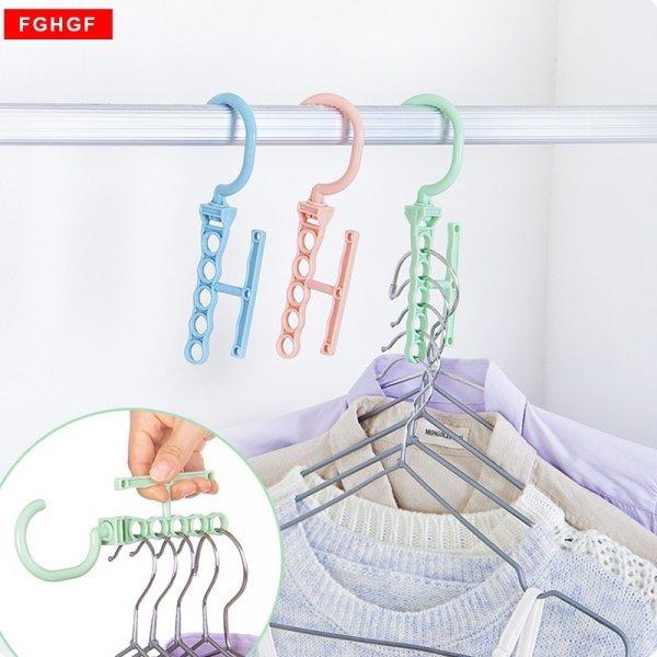 Многоярусная вешалка для одежды (19*8.5*1.6 см)