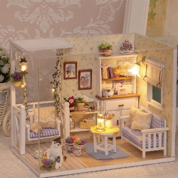 Реалистичный Дом для куклы украсит комнату малышки