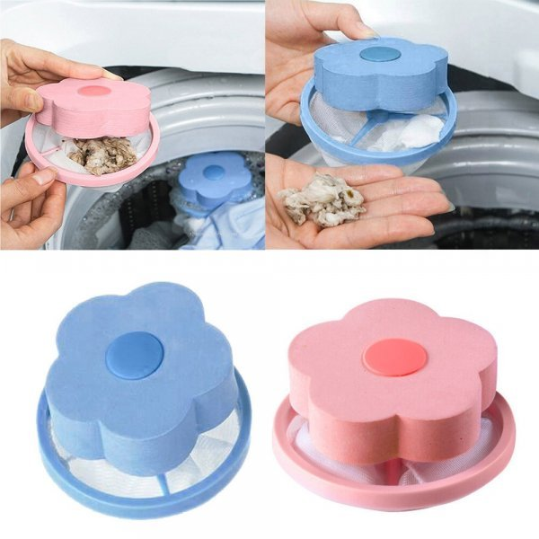 Фильтр для сбора мусора в стиральной машинке (2 цвета, 8*8*15 см)