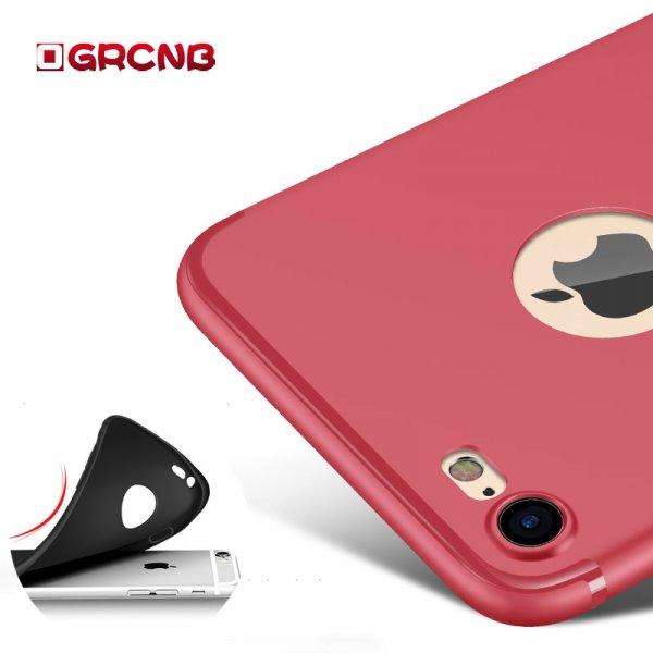 Приятный на ощупь матовый чехол для iPhone ( 5 5S SE 6 6 S 7 8 )