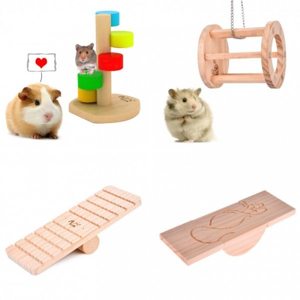 Игрушки для мелких грызунов TAONMEISU (1 шт, 6 видов)