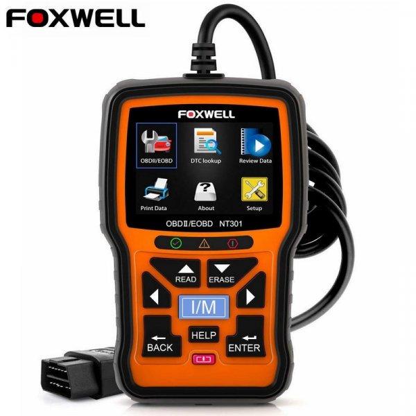 Автомобильный сканер для диагностики двигателя Foxwell