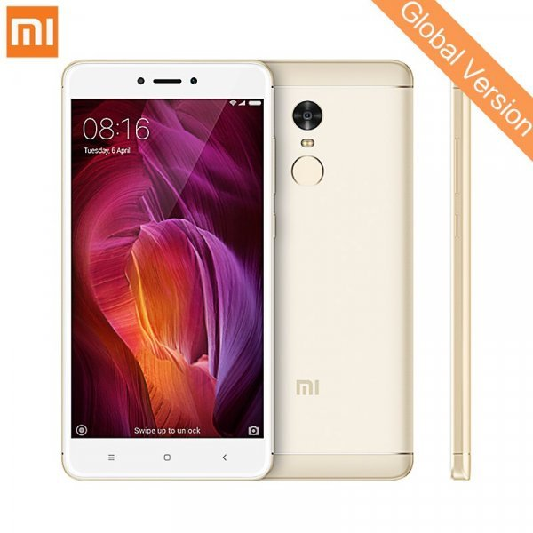 "Мощный смартфон Xiaomi Redmi Note 4 Qualcom 4 ГБ 64 ГБ 5,5"""