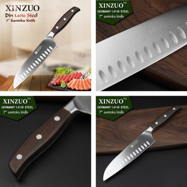 Профессиональный нож для мяса XINZUO (нерж. сталь, 312*45 мм)