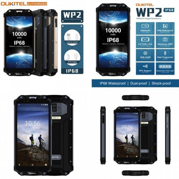 Влагозащищенный смартфон OUKITEL WP2 IP68