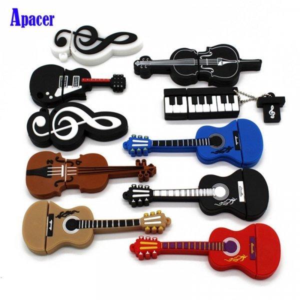Музыкальный инструмент от APACER (USB 2.0, до 64 Гб)