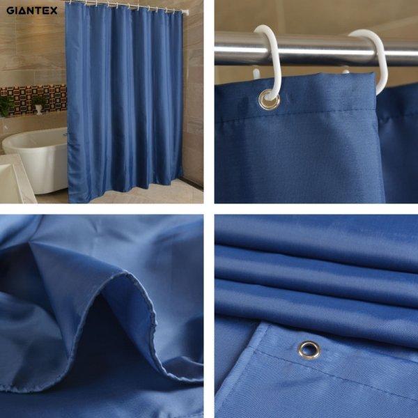 Стильная штора для ванной (80*180 см; 150*180 см; 180*180 см; 180*200 см; 200*200 см; 240*200 см)