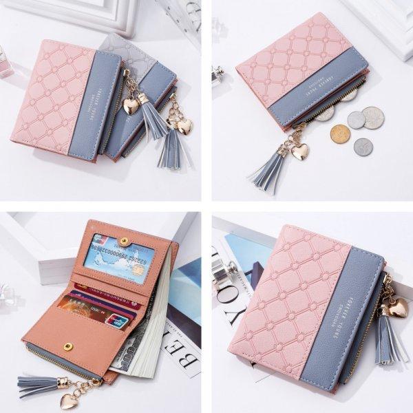 Компактный женский кошелек DWTS (5 цветов)