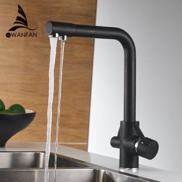 Высокий смеситель для кухни WANFAN (7 цветов)
