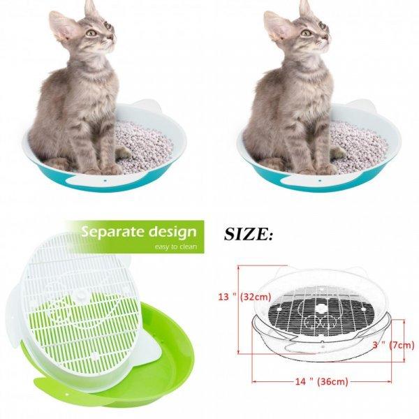Туалет для котят VOFORD (2 цвета)
