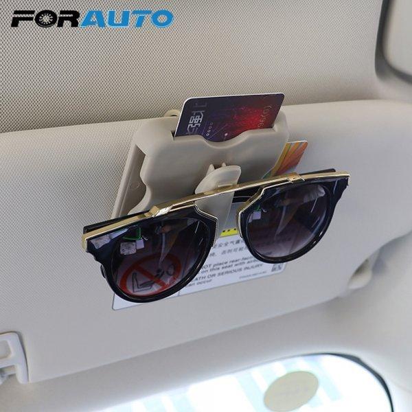 Мульти держатель для очков и мелочей в машину FORAUTO (пластик)