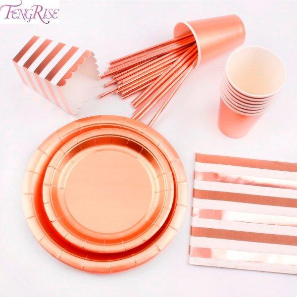 Стильная посуда для вечеринок Fengrise