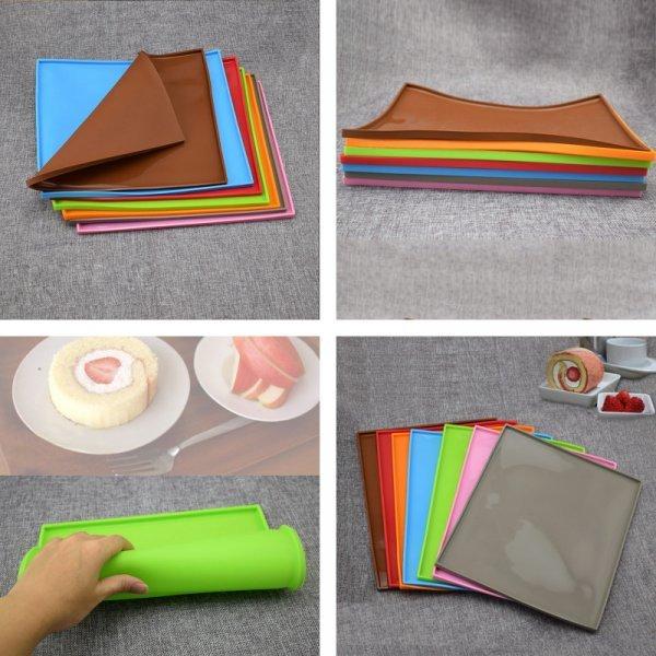 Силиконовый коврик с бортиками Wu fang (3 цвета)
