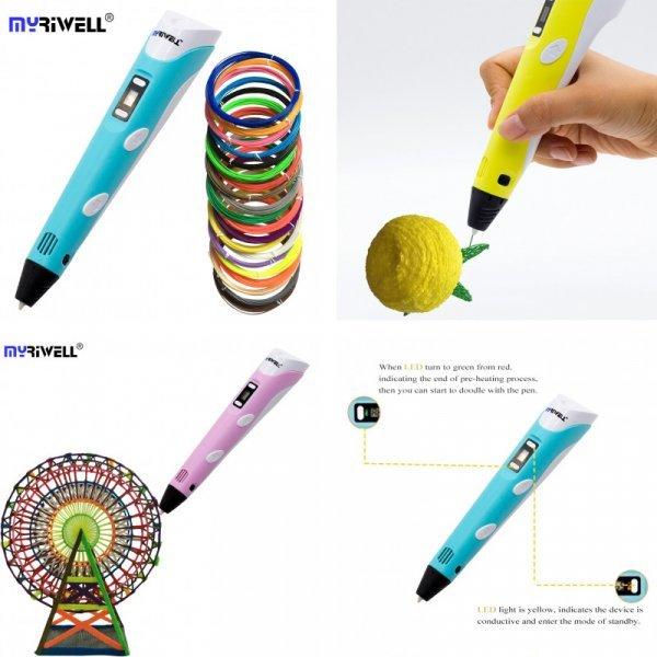 Мини 3-D принтер-ручка от MYRIWEL