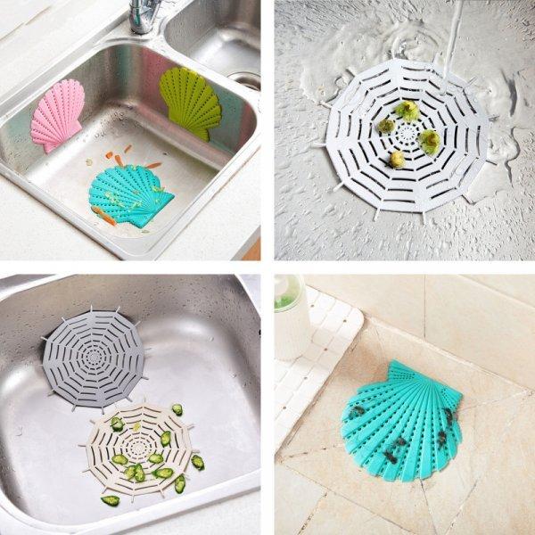 Стильное ситечко от засора для кухни или ванны Halojaju (2 шт, 3 цвета)
