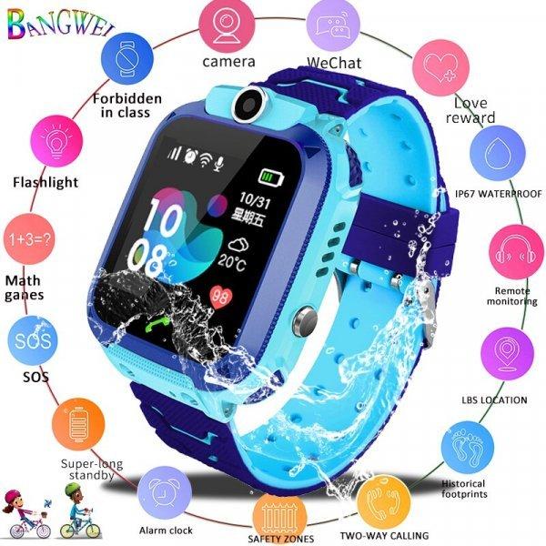 Смарт часы для детей LIGE (2 цвета)