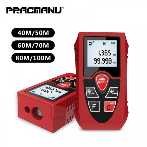 Цифровой лазерный дальномер PRACMANU (40-100 м)