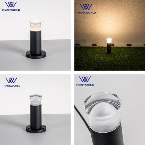 Стильный газонный светильник VW 3 Вт (330lm,  3000 К, 6000 К )