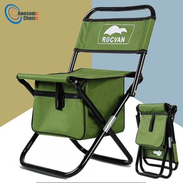 Складной стул-сумка для рыбалки (2 цвета)