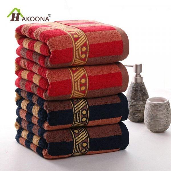 Роскошное полотенце HAKOONA (2 цвета, 2 размера)