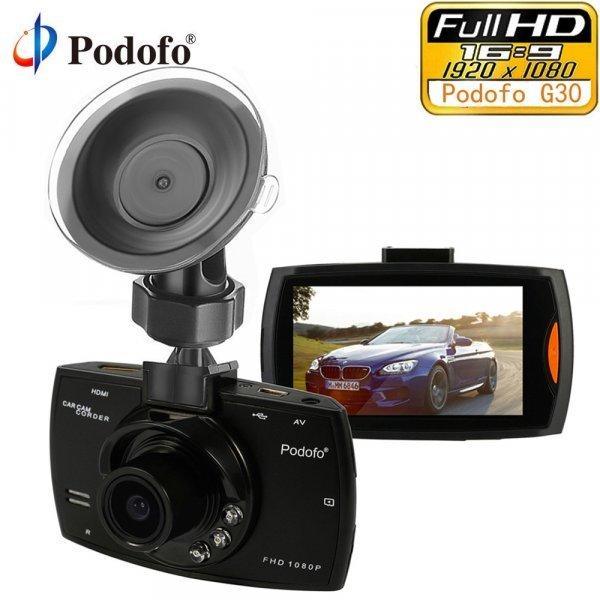 "Видеорегистратор Podofo g30 Full HD 1080 P 2.7 """