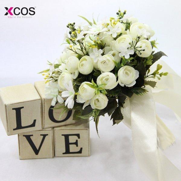 Букет невесты из искусственных цветов Xcos (6 видов)